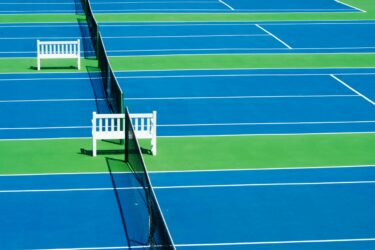 No Pickleball Court, No Problem: Playing Pickleball on a Tennis Court