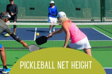 Pickleball Net Height & Potential Substitutes When You're In a Bind